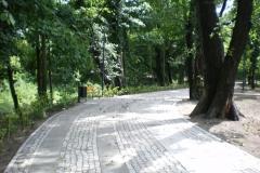 Park Wyspa Teatralna Gubin. Wykonawca firma Leszek Kułak 01