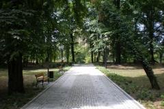 Park Wyspa Teatralna Gubin. Wykonawca firma Leszek Kułak 02