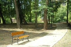 Park Wyspa Teatralna Gubin. Wykonawca firma Leszek Kułak 03