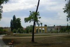 Park Wyspa Teatralna Gubin. Wykonawca firma Leszek Kułak 04