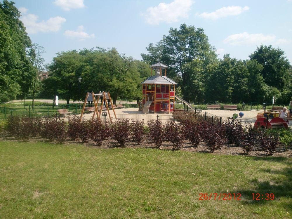 Park historyczny Gubin. Wykonawca firma Leszek Kułak 08
