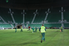2010 wymiana murawy stadion śląsk wrocław. wykonawca- firma leszek kułak 012